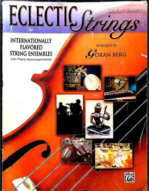 Eclectic Strings, Book 1 cover