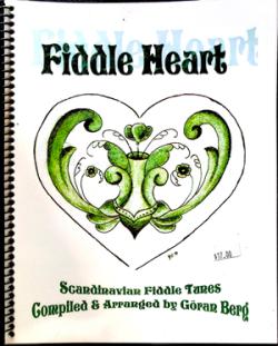 Fiddleheart, book I cover