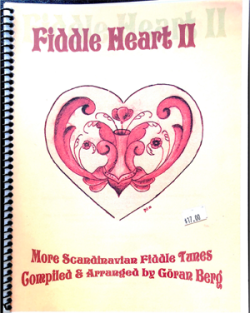 Fiddleheart, book II cover