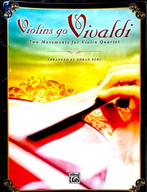 Violins Go Vivaldi book cover